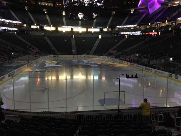 T-Mobile Arena, section: 20, row: K, seat: 10