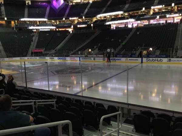 T-Mobile Arena, section: 17, row: D, seat: 1