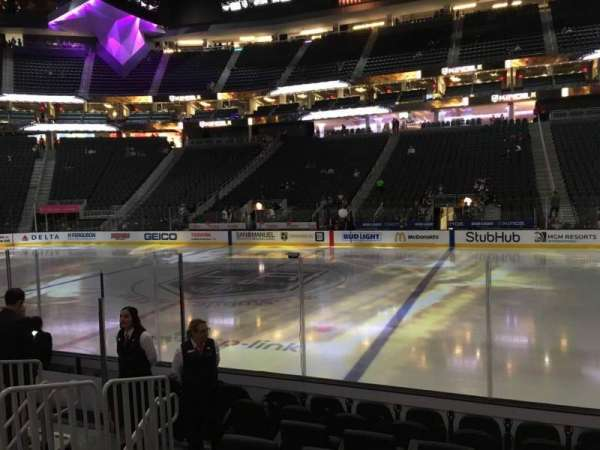 T-Mobile Arena, section: 16, row: D, seat: 18