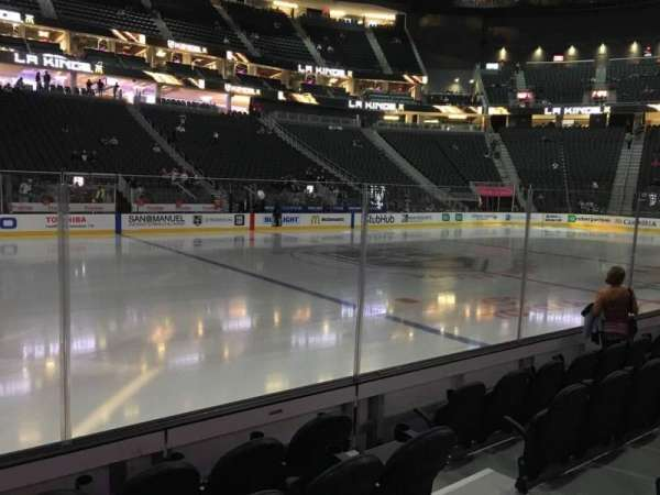 T-Mobile Arena, section: 14, row: A, seat: 7