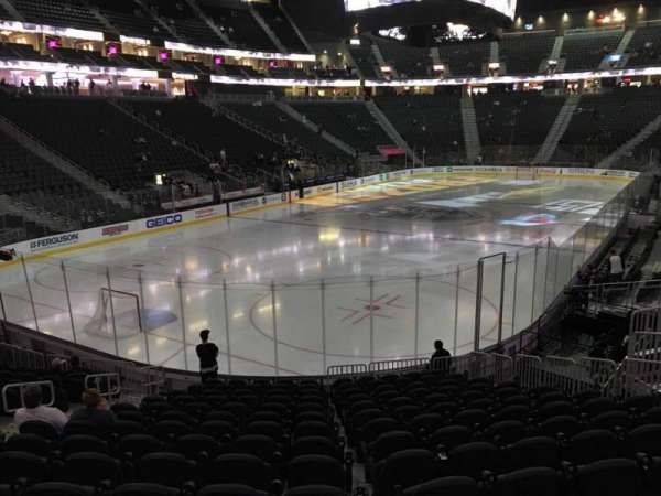 T-Mobile Arena, section: 12, row: P, seat: 10