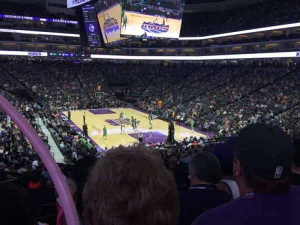 Golden 1 Center, section: 102, row: U, seat: 15