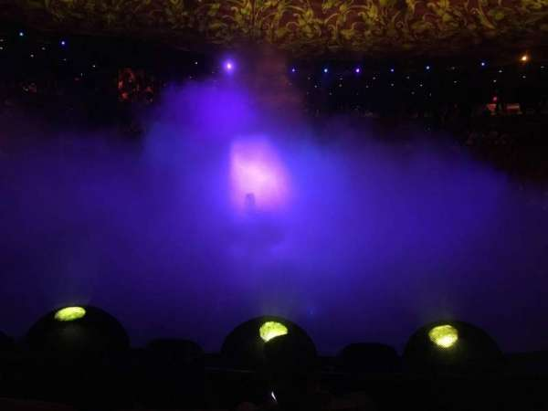 Wynn Theatre, section: D, row: C, seat: 10