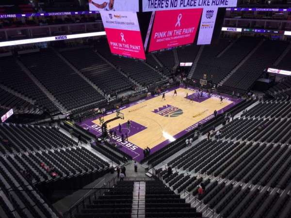 Golden 1 Center, section: 221, row: B, seat: 18