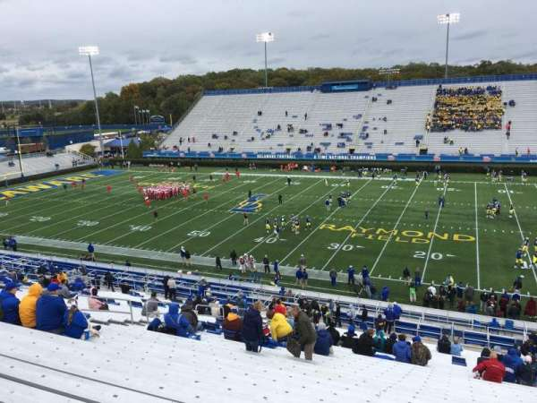 Delaware Stadium, section: B, row: Jj, seat: 12
