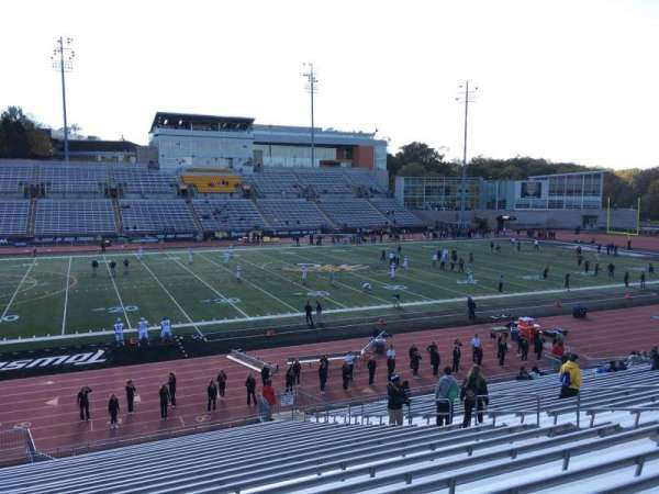 Johnny Unitas Stadium, section: 106, row: Aa, seat: 15