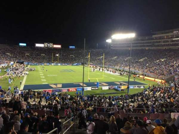 Rose Bowl, section: 11-L, row: 43, seat: 22