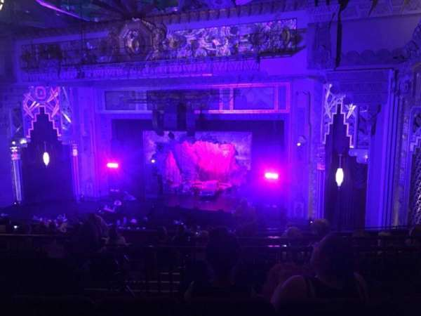 Hollywood Pantages Theatre, section: Mezzanine R, row: M, seat: 10