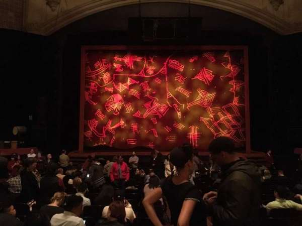 Orpheum Theatre (San Francisco), section: Orchestra LC, row: U, seat: 101
