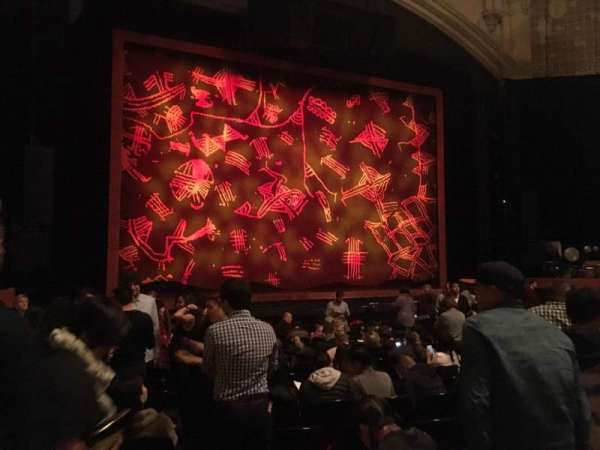 Orpheum Theatre (San Francisco), section: Orchestra LC, row: S, seat: 127