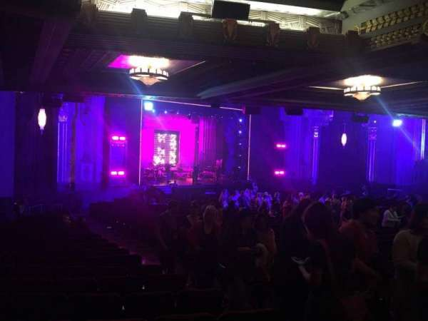 Hollywood Pantages Theatre, section: Orchestra L, row: Uu, seat: 7