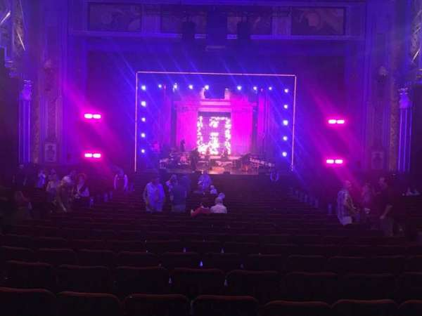 Hollywood Pantages Theatre, section: Orchestra C, row: Nn, seat: 107