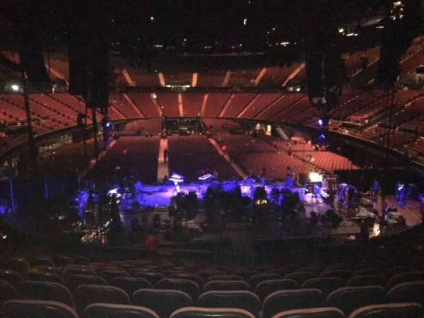 The Forum, section: 119, row: 16, seat: 6