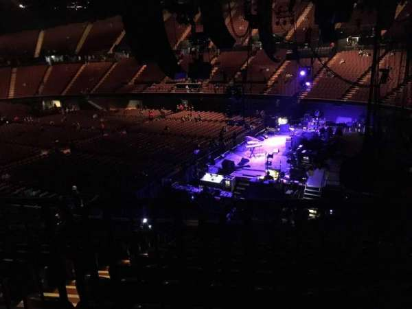 The Forum, section: 114, row: Aca, seat: 7