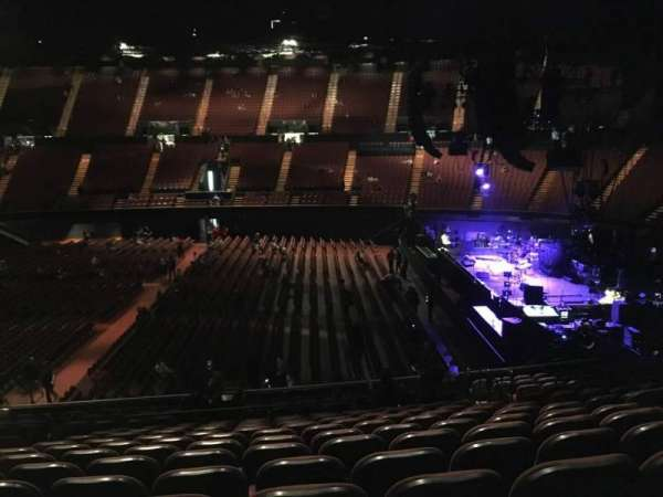 The Forum, section: 111, row: 16, seat: 7