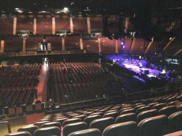The Forum, section: 110, row: 16, seat: 6
