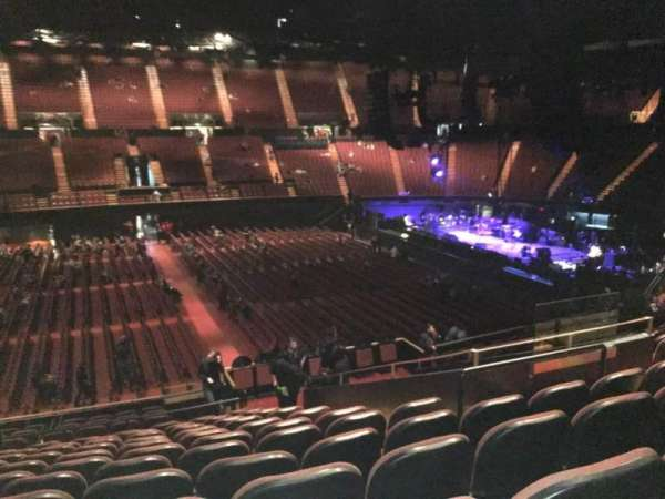 The Forum, section: 109, row: 16, seat: 5