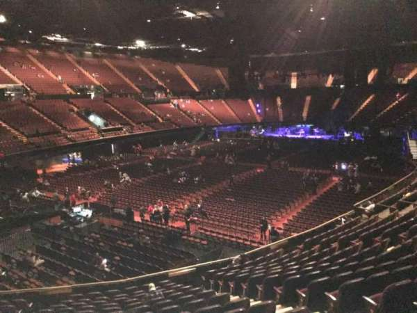The Forum, section: 104, row: 14, seat: 7