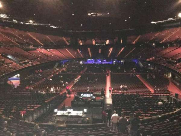 The Forum, section: 101, row: 14, seat: 7