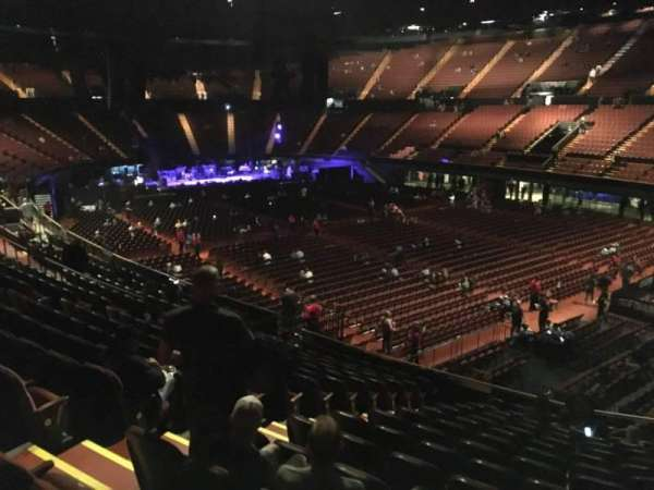 The Forum, section: 132, row: 14, seat: 6