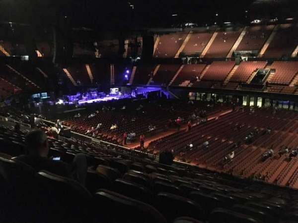 The Forum, section: 130, row: 16, seat: 5