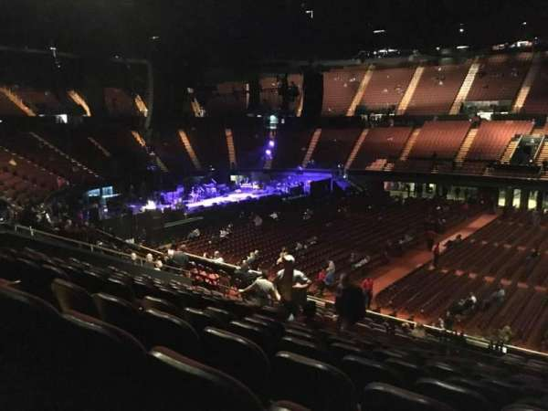 The Forum, section: 129, row: 16, seat: 7