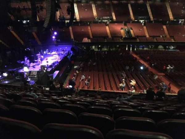 The Forum, section: 126, row: 16, seat: 6