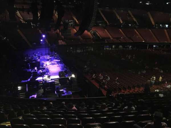 The Forum, section: 124, row: 14, seat: 6