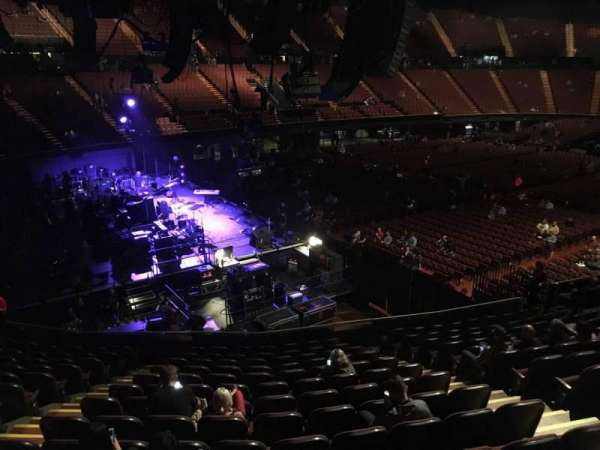 The Forum, section: 123, row: 13, seat: 6