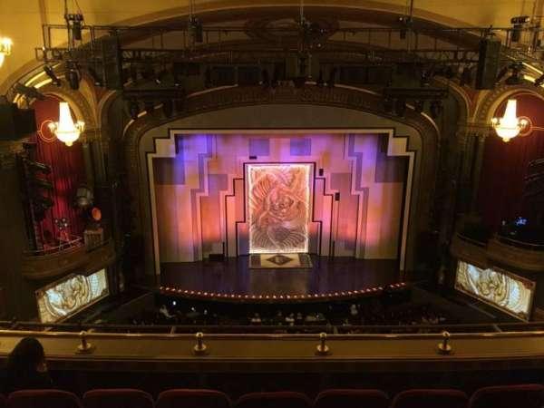 Lyric Theatre, section: Balcony C, row: D, seat: 104