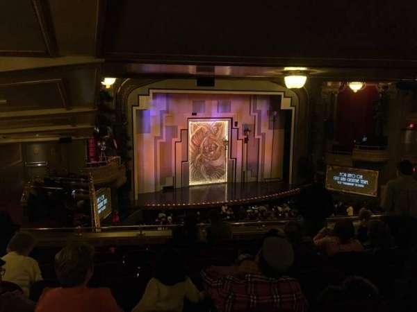 Lyric Theatre, section: Dress Circle Left, row: G, seat: 25