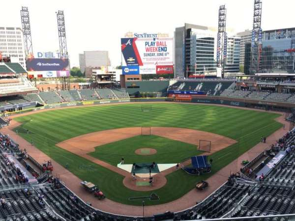 SunTrust Park, section: 326, row: 3, seat: 10