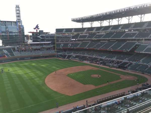 SunTrust Park, section: 337, row: 3, seat: 15