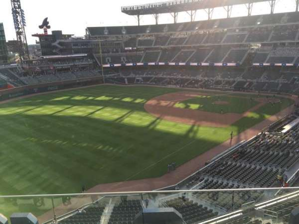 Truist Park, section: 342, row: 4, seat: 8