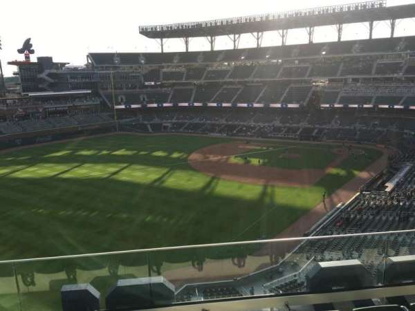 Truist Park, section: 343, row: 4, seat: 12