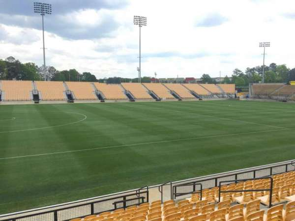 Fifth Third Bank Stadium, section: 103, row: L, seat: 11