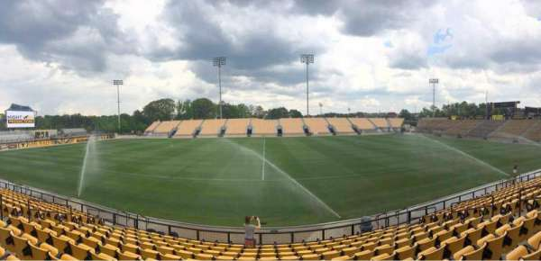 Fifth Third Bank Stadium, section: 106, row: L, seat: 10