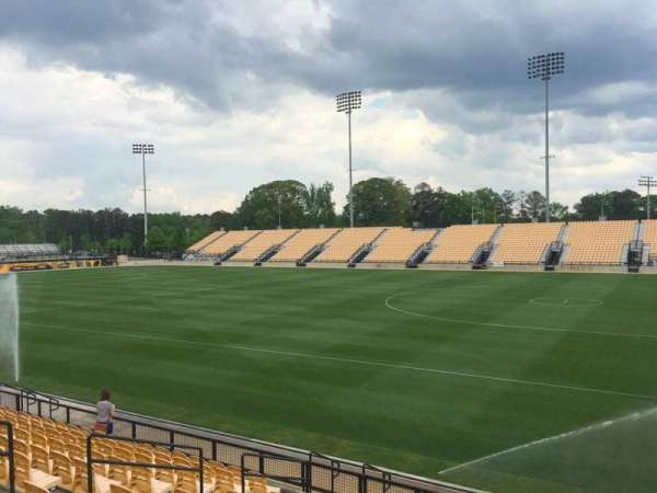 Fifth Third Bank Stadium, section: 110, row: L, seat: 10