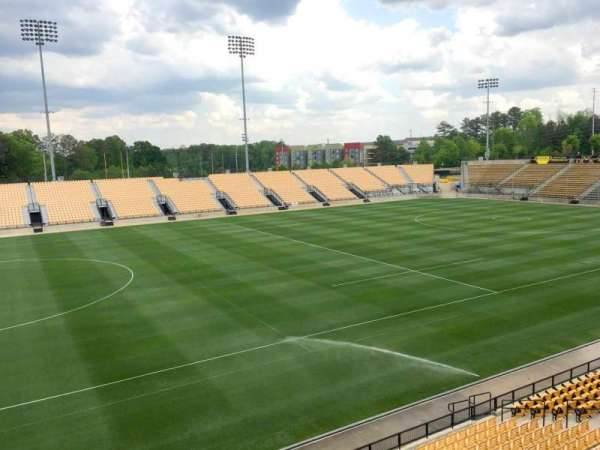 Fifth Third Bank Stadium, section: 103 Outdoor Bay Suite, row: 1