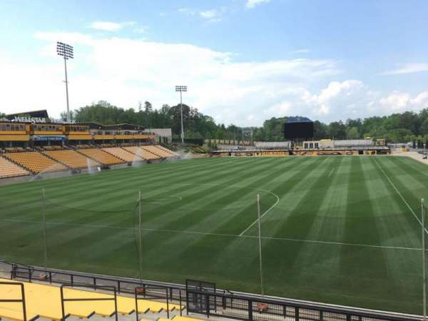 Fifth Third Bank Stadium, section: 118