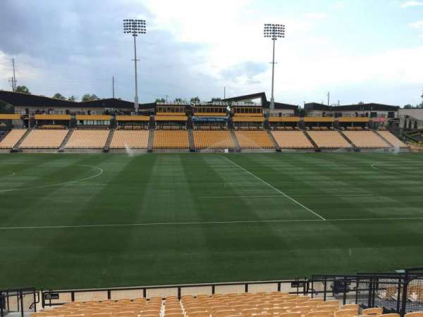 Fifth Third Bank Stadium, section: 125, row: R, seat: 10