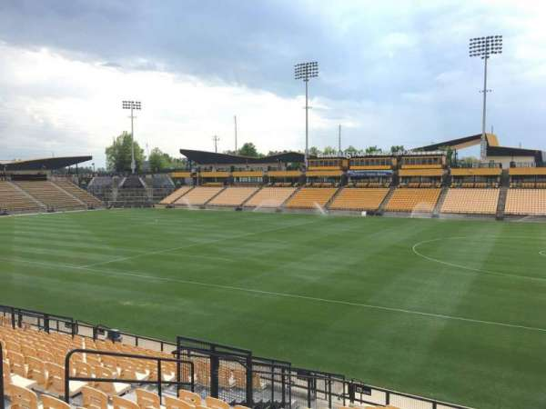 Fifth Third Bank Stadium, section: 129, row: R, seat: 10