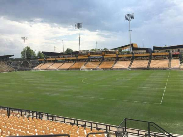 Fifth Third Bank Stadium, section: 131, row: R, seat: 4