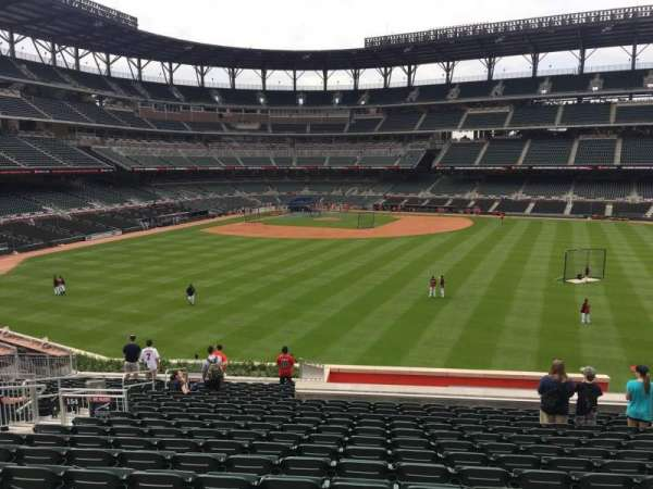 SunTrust Park, section: 154, row: 21, seat: 13