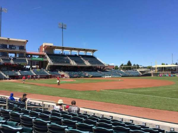 Isotopes Park, section: 118, row: G, seat: 13