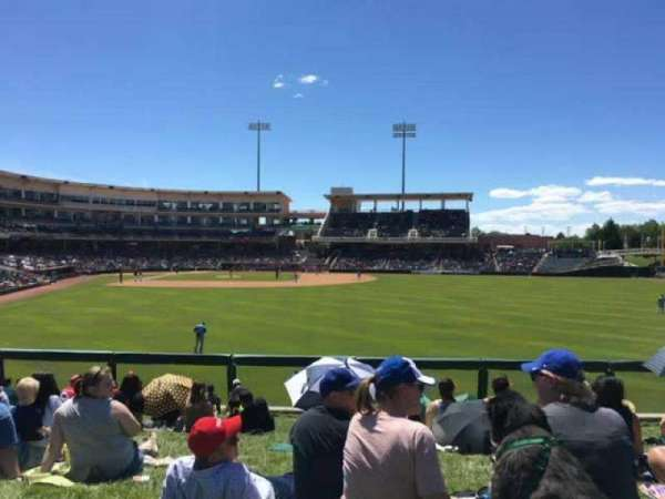 Isotopes Park, section: Lawn