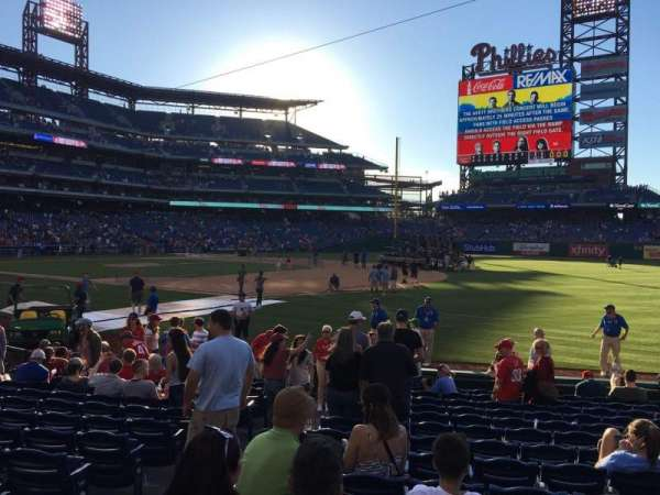 Citizens Bank Park, section: 112, row: 14, seat: 17