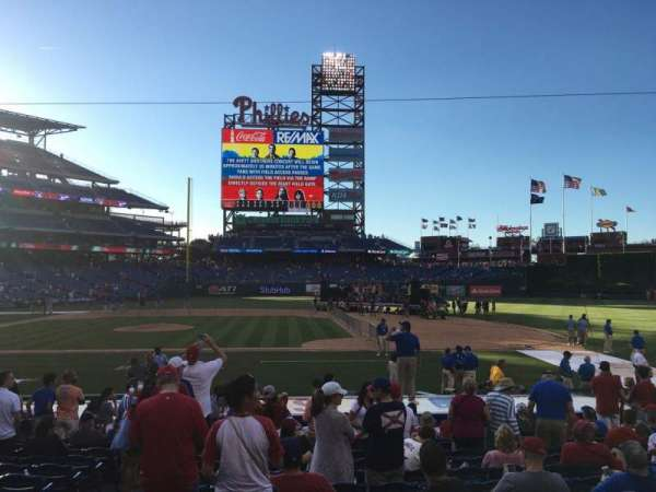 Citizens Bank Park, section: 116, row: 14, seat: 16