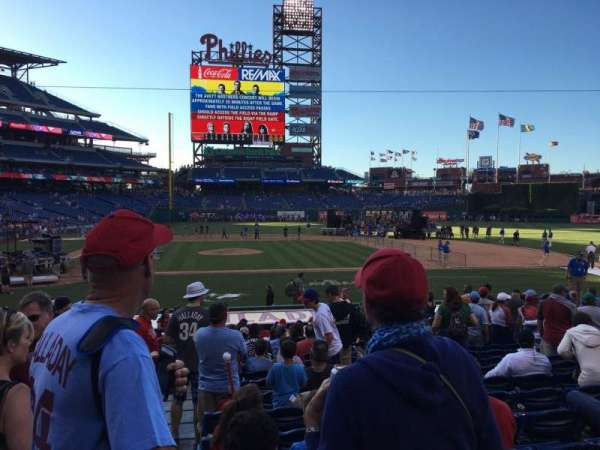 Citizens Bank Park, section: 118, row: 17, seat: 18