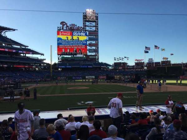 Citizens Bank Park, section: 118, row: 11, seat: 3